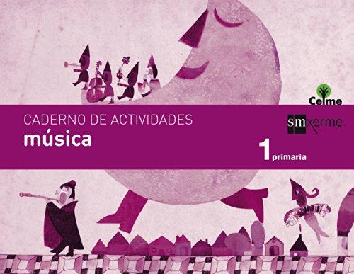 Caderno música. 1 Primaria. Celme - 9788498544169