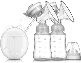 Double Electric Breast Pumps for Breast Milk Feeding 2 Adjustable Mode & 4 Pumping Suction Levels for Mom's Breastfeeding