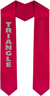 Custom Triangle Graduation Stole Sash
