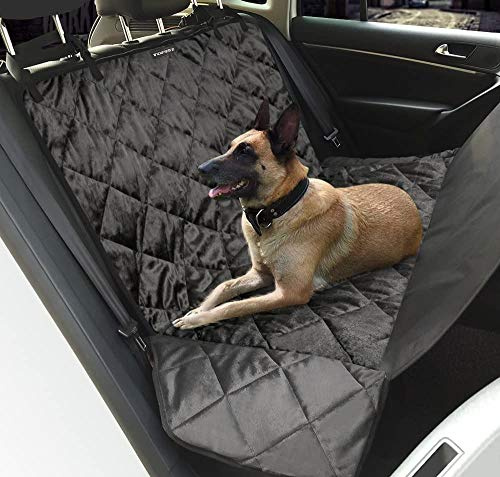 MAYUN Topist Manta impermeable para coche para perros y perros, manta antideslizante para coche, súper suave para coche con cinturón de seguridad para perro (color como se muestra)