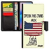 Coque Note 10 Lite Rabat j'peux Pas j'vais au USA SM-N770F Drapeau americain personnalisé Etats...