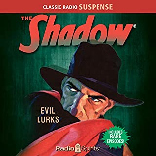 The Shadow: Evil Lurks audiobook cover art