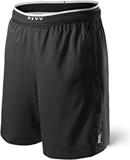 Saxx Men's Athletic Shorts – Kinetic 2N1 Train Shorts - Workout, Running and Training, Breathable Active Shorts with Pockets