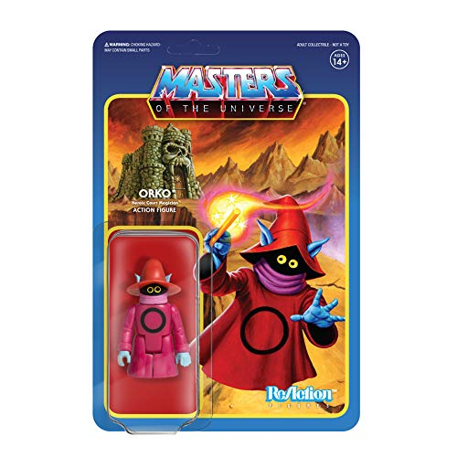 Super7 Masters of The Universe Reaction Action Figure Wave 4 Orko 10 cm Figures