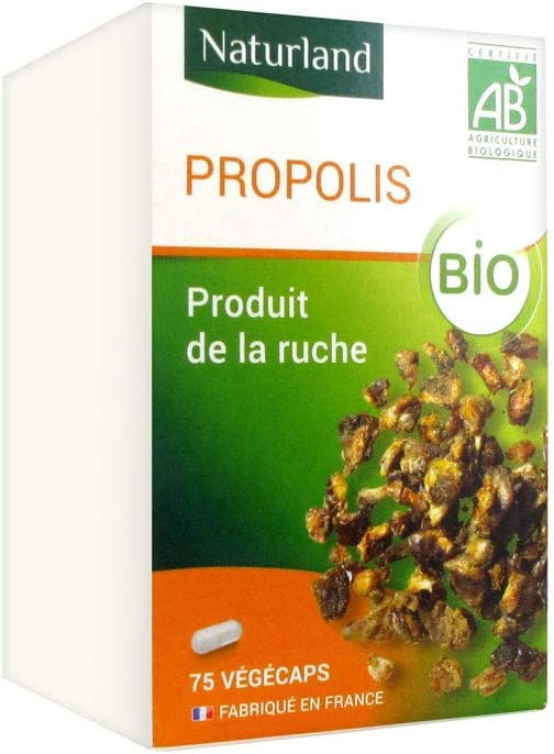 Naturland Organic Propolis Limited Special Price A surprise price is realized Vegecaps 75