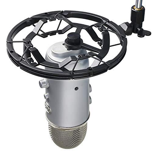 Blue Yeti Shock Mount - Montura de Choque Micrófono Reducir Vibraciones y Mejorar la Calidad de Grabación por YOUSHARES