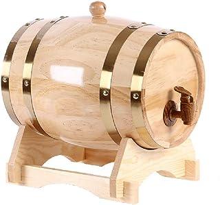 Fût Chêne Domestique Fûts de chêne Baril, Fabriqué à la Main à l'aide de chêne pour Stockage Le Port de Bière Whiskey Rum ...