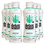 Detoxwater Prebiotic Aloe Water - Original (Lychee & White Grape) 16...