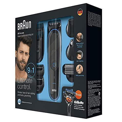 Braun Braun 9-in-1 Multi-Grooming-Kit MGK3085, Barttrimmer Bild