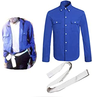 for Michael Jackson Dance ShirtsThe Way You Make Me Feel Song Shirts and Belt