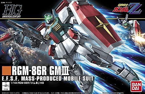HGUC 機動戦士ガンダムZZ RGM-86R ジムIII 1/144スケール プラモデル