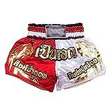 Pantalones Cortos de Muay Thai Traje de Entrenamiento de Boxeo Pantalones Cortos de Combate Libre de Hombres Lucha Integral para Hombres Ropa de Sanda de Muay Thai Shorts MMA Kick Boxing Troncs