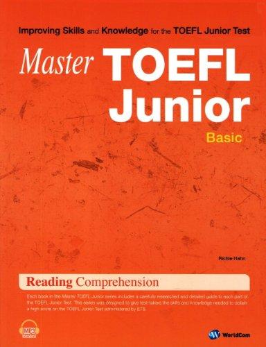 Master TOEFL Junior Reading Comprehension Basic (Korean edition)