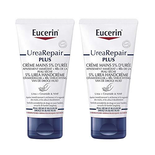 Eucerin Repairing Hand Cream 5{0b13674bf746a0a9a19b9631a908bff317efbb1129d5e3af19359b175b0f2123} Urea 2 x 75ml