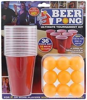 36 piezas de este conjunto Beer Pong Juego - ciervo y partes de gallina - Navidad - Juegos de vacaciones