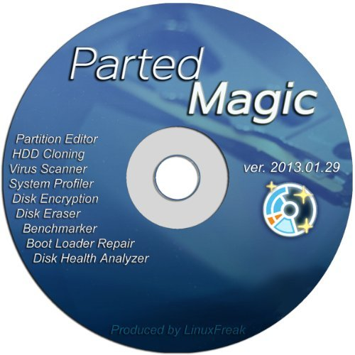Parted Magic - Powerful Partition Editor and Cloning / Backup Tool