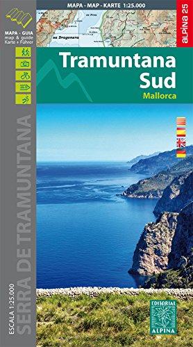 Tramuntana (Mallorca) Sur Wanderkarte 1 : 25 000: Wanderkarte und Wanderführer