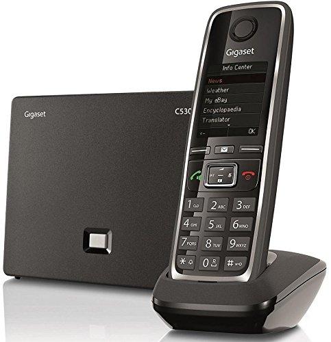 Siemens gigaset-c530ip s30852-h2506-r301Gigaset IP teléfono