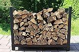 The Woodhaven 3 Foot Firewood Log Rack