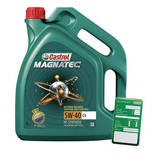 aceite de motor CASTROL MAGNATEC 5W-40 C3 en garrafa de 5 litros...