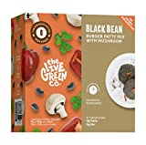 The Live Green Co Bean Burger Mix with Mushrooms – Plant-Based Vegetarian Meat Mix for Burgers, Meatballs, Snacks – Gluten Free Meat Substitute with Fiber and Protein - Meatless Beef Mix for Vegans