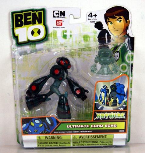 Ben 10 Ultimate Alien 4' Ultimate Echo Echo Haywire (Includes Minifigure)