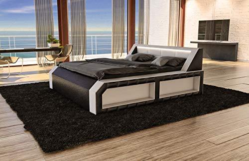 Sofa Dreams Modernes Designerbett Matera mit LED Beleuchtung