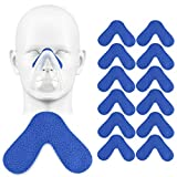 12PackS CPAP Nose Pads for Masks, Nose Protector for Mask and Cushions, Comfort Nasal Pads for CPAP Mask - Avoid Redness and Pressure Marks, Version Update: Easy to Stay in The Proper Place All Night