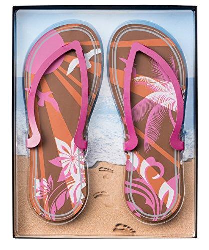 Confiserie Weibler Flip-Flops rosa 200g