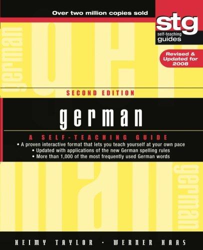 German: A Self-Teaching Guide