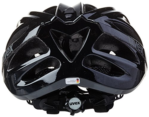 uvex Unisex– Erwachsene, boss race Fahrradhelm, black, 52-56 cm - 6