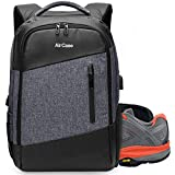 Aircase Laptop Backpack Rucksack for 13-Inch, 14-Inch, 15-Inch Bag Anti-Theft | USB Charging (Black)