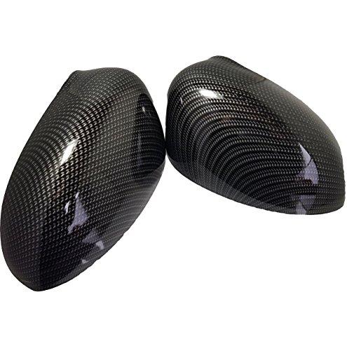 Set Spiegelgehäuse rechts und links Carbon-Optik passend für 500 / 500c