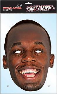 mask-arade パーティーマスク【ウサイン・ボルト/Usain Bolt】