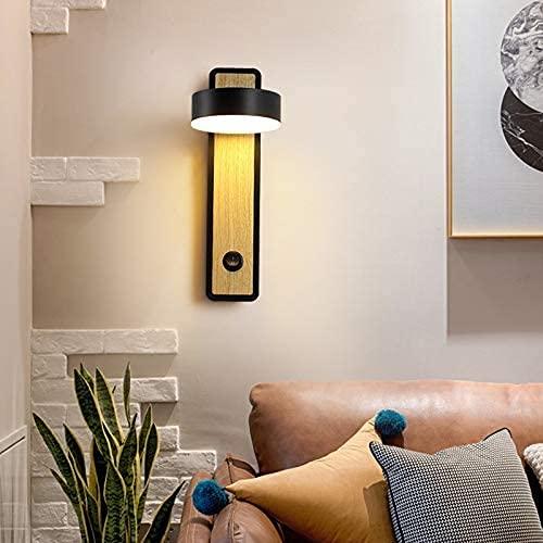 WEM Lámpara de pared de la novedad, lámpara de pared del pasillo de la lámpara de pared del hogar de la sala de estar del estudio del dormitorio