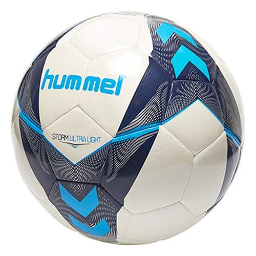 hummel Storm Ultra Light FB Handball, Weiß/Vitange Indigo/Turquoise, 3