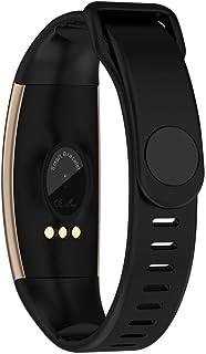 Leoboone R16 - Pulsera inteligente deportiva con pantalla táctil, frecuencia cardíaca y oxígeno en sangre