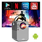 Smart Projector with WiFi and Bluetooth, Artlii Play Mini...