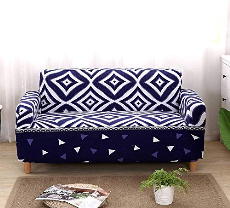 Elastic Sofa Covers for Living Room Sofa Towel Slip-Resistant Sofa Cover Strech Sofa Slipcover 1 2 3 4 Seater   colour14, Two-Seater