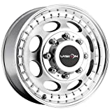 Vision 181 Hauler Dually Front 16x6 8x6.5' +115mm Machined Wheel Rim 16' Inch