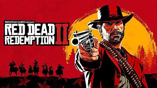 Craftylittlepenguin Red Dead Redemption 2 Gaming Poster Druck A4 A3 A2 Maxi Gamer Online Geek Art RDR2-1582 (Maxi – 61 cm x 91 cm)