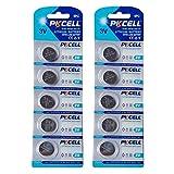 10 Piezas PKCELL CR1625 Br1625 1625 3V Pilas de botón de botón de Litio