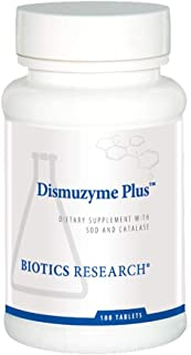 Biotics Research Dismuzyme Plus High Antioxidant Activity, Supports Immune System, Healthy Inflammatory Response. 180 Tabl...