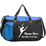 Customized Girl Personalized Dance Class Bag: Gym Duffel Bag