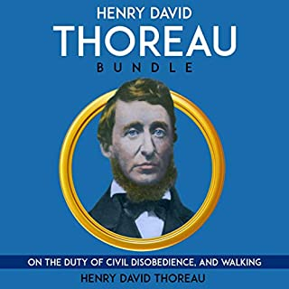 Henry David Thoreau Bundle audiobook cover art
