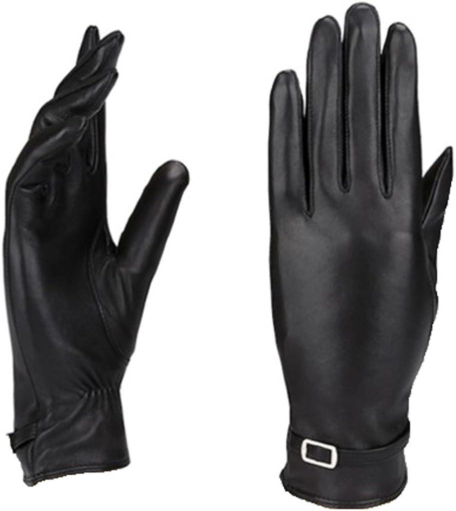 MoDA Women's Ms. Berlin Genuine Leather Fully Lined Winter Gloves