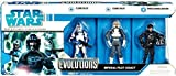 Star Wars 3.75 Inch Scale Clone Wars Evolutions - Imperial Pilots Legacy 3 Pack