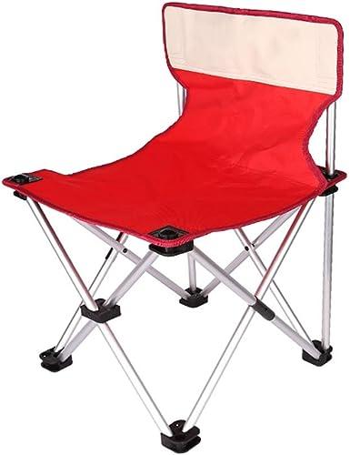 ZXCC Kompakter Camping-Faltgitter-Stuhl für hohe Beanspruchung
