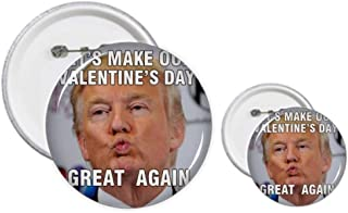 American Ridiculous President Great Image Pin Badge Design Kit Craft Sets