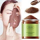 WSYYW 100g Máscara de partículas pequeñas de Algas Marinas Hidratante Aclaramiento de la Piel Reducción envolturas corporales y faciales Mascarilla Facial con Control de Aceite Puro Natural